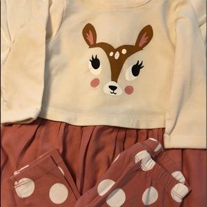 Bambi 2 piece outfit